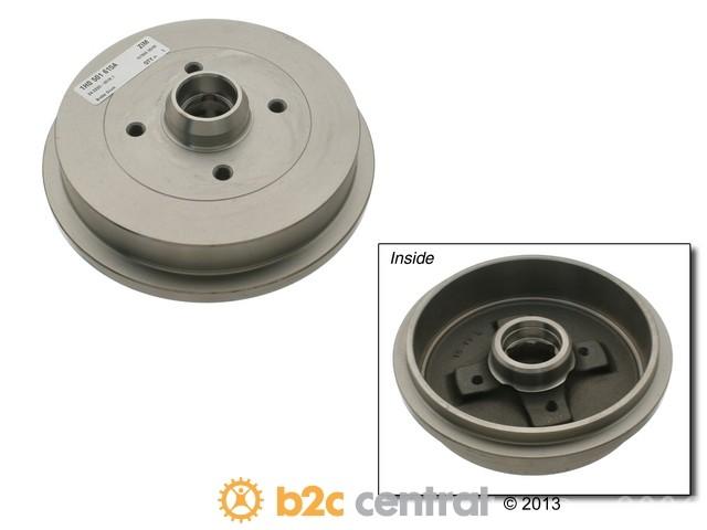 Zimmermann -  Brake Drum (Rear) - B2C W0133-1621375-ZIM