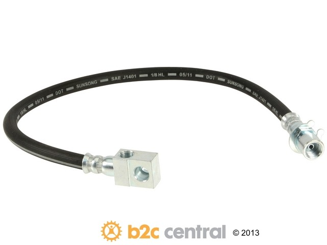 FBS - Dorman Brake Hose (Rear Center) - B2C W0133-1691666-DOR