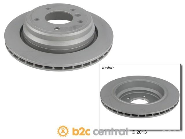 FBS - Zimmermann Coat-Z Anti-Corrosion Brake Disc - B2C W0133-1597056-ZIC