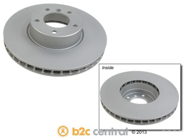FBS - Zimmermann Coat-Z Anti-Corrosion Brake Disc - B2C W0133-1597057-ZIC