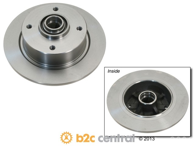 FBS - Brembo Brake Disc OE Replacement (Front) - B2C W0133-1619010-BRE