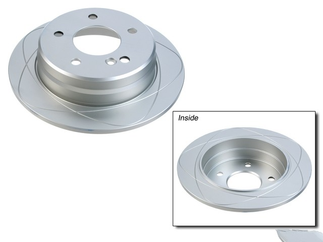 FBS - ATE Premium One Brake Disc Coated / Gas Slotted (Rear) - B2C W0133-1619993-APO