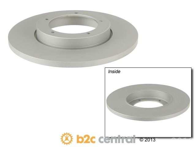 FBS - Zimmermann Coat-Z Anti-Corrosion Brake Disc (Front) - B2C W0133-1621662-ZIC