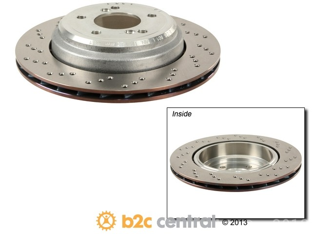 FBS - Genuine OE Replacement Brake Disc (Rear Left) - B2C W0133-1763201-OES