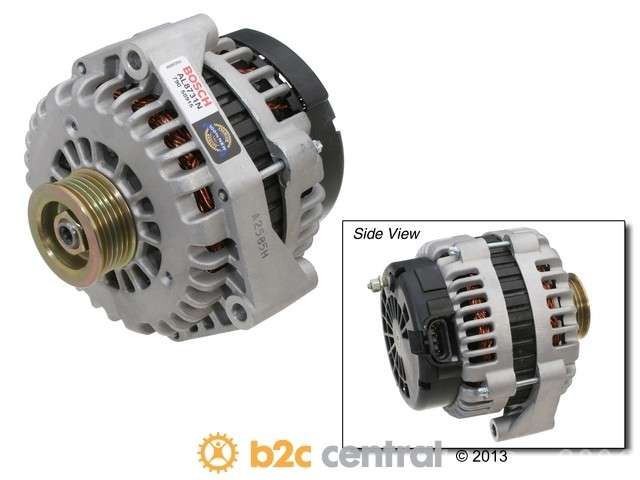 FBS - Bosch New - Lifetime Warranty Alternator 130 Amp - B2C W0133-1600074-BOS