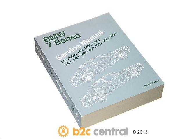 FBS - Bentley Paper Repair Manual BMW 7 Series E32 - B2C W0133-1609383-BNT