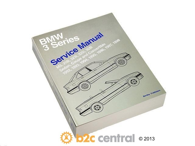 FBS - Bentley Paper Repair Manual BMW 3 Series E36 - B2C W0133-1614947-BNT
