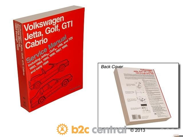 FBS - Bentley Paper Repair Manual VW Jetta/Golf/GTI A3 - B2C W0133-1616944-BNT