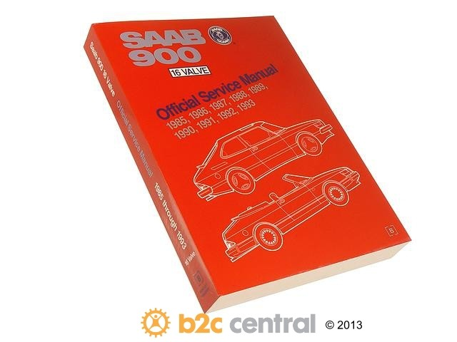 FBS - Bentley Paper Repair Manual Saab 900 1985-93 - B2C W0133-1618871-BNT