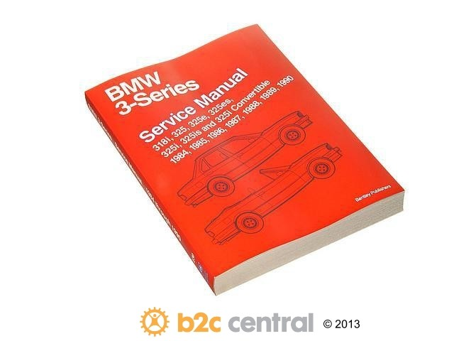 FBS - Bentley Paper Repair Manual BMW 3 Series E30 - B2C W0133-1620782-BNT