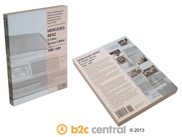 FBS - Bentley Paper Repair Manual MB E-Class W124 - B2C W0133-1623843-BNT