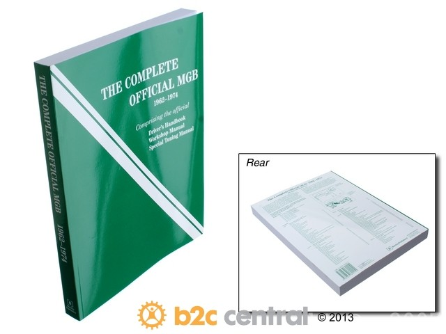 FBS - Bentley Paper Repair Manual MGB 1962-74 - B2C W0133-1758898-BNT
