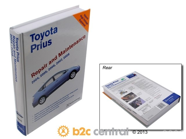 FBS - Bentley Paper Repair Manual Toyota Prius 2004-08 - B2C W0133-1810208-BNT