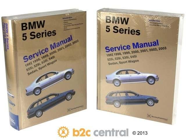 FBS - Bentley Paper Repair Manual BMW 5 Series E39 - B2C W0133-1909784-BNT