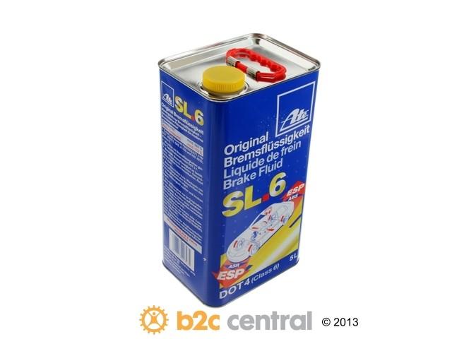 B2C CENTRAL - ATE Chemical Item Brake Fluid DOT 4 LV - 5 Liter - B2C W0133-1812238-ATE