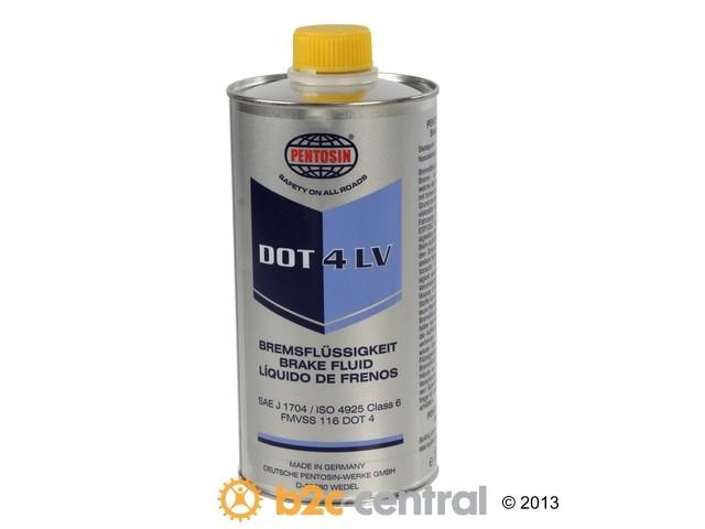 B2C CENTRAL - Pentosin Chemical Item Brake Fluid DOT4 LV - 1 Liter - B2C W0133-1916859-PEN