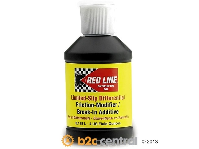 FBS - Red Line Chemical Item Gear Oil Additive Friction Modifier 4oz - B2C W0133-1845468-RED
