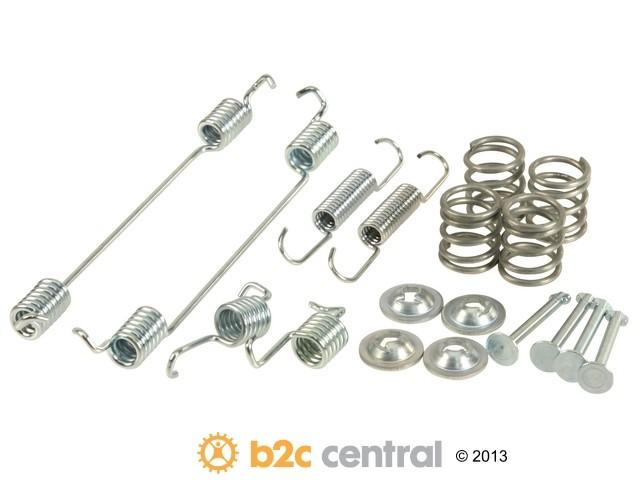 FBS - Textar Brake Shoe Spring Kit (Rear) - B2C W0133-1937440-TEX