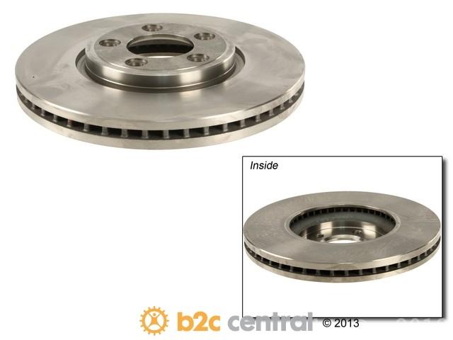 FBS - Eurospare Coated Brake Disc 1=1 Single Brake Disc - B2C W0133-1892548-ESP