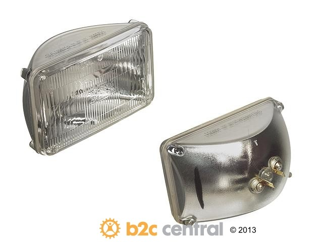 FBS - Osram/Sylvania Basic Halogen Sealed Beam Bulb - Headlight 55w - B2C W0133-1637932-OSR
