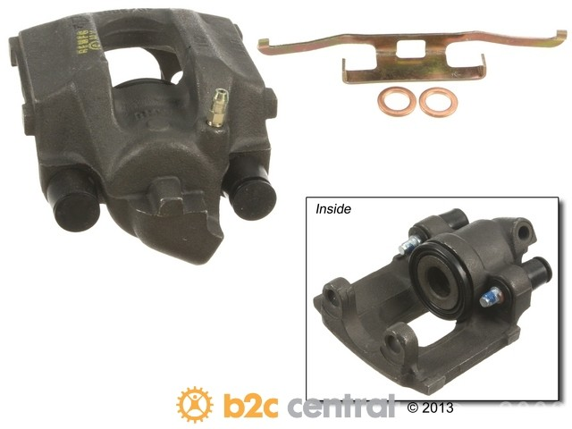 FBS - Cardone Remanufactured Brake Caliper Unloaded w/o Bracket - B2C W0133-1664572-CAR