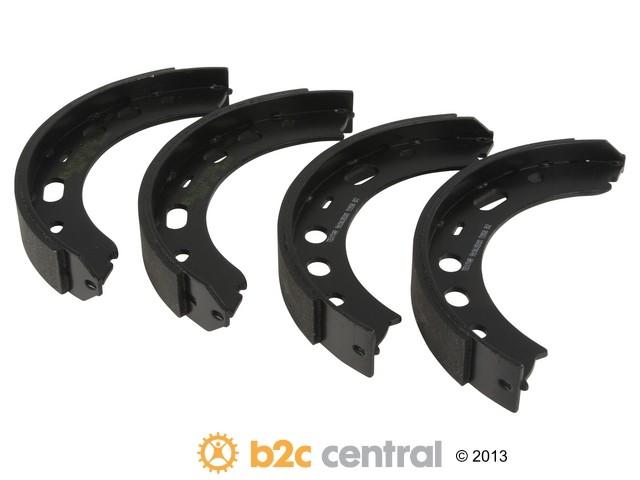 B2C CENTRAL - Textar Parking Brake Shoe Set 1 Per Vehicle (Rear) - B2C W0133-1808687-TEX