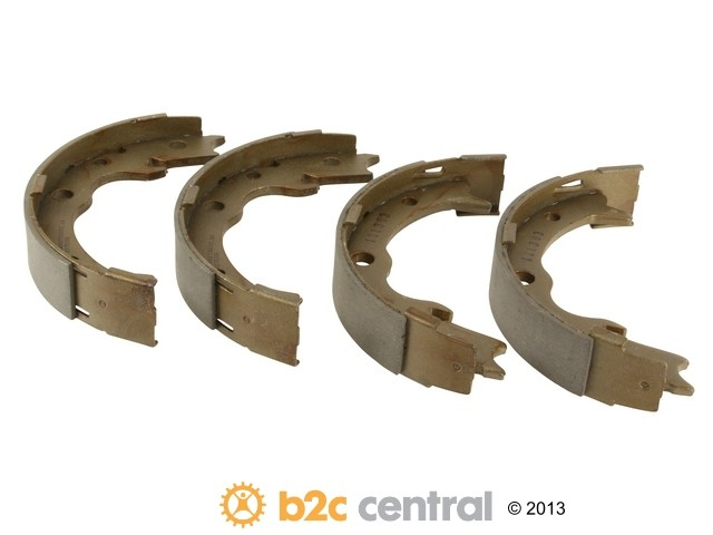 FBS - SBS Parking Brake Shoe Set set of 4 shoes - B2C W0133-1891110-SBS