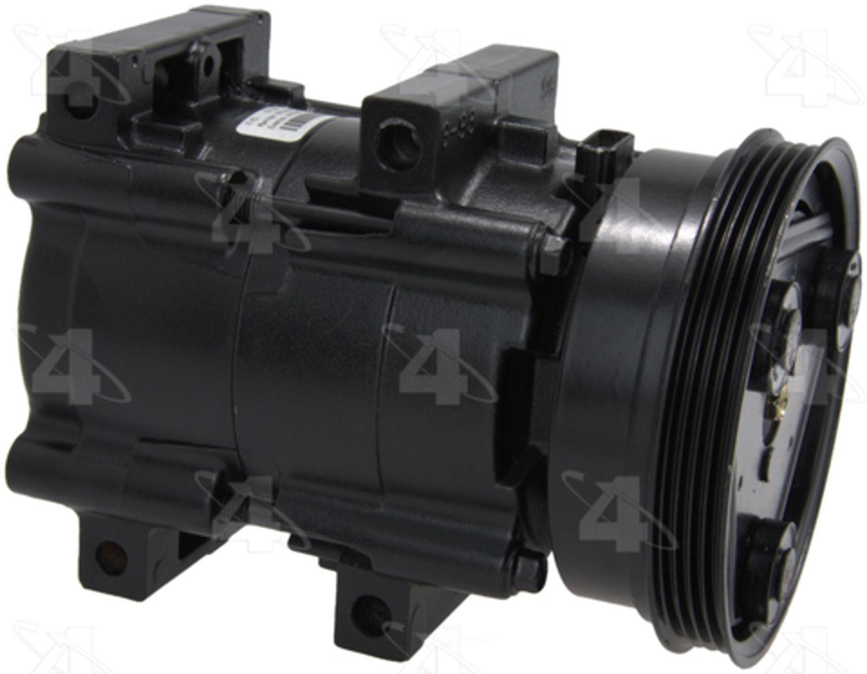 PARTS MASTER/FOUR SEASONS - A/C Compressor - P77 57139