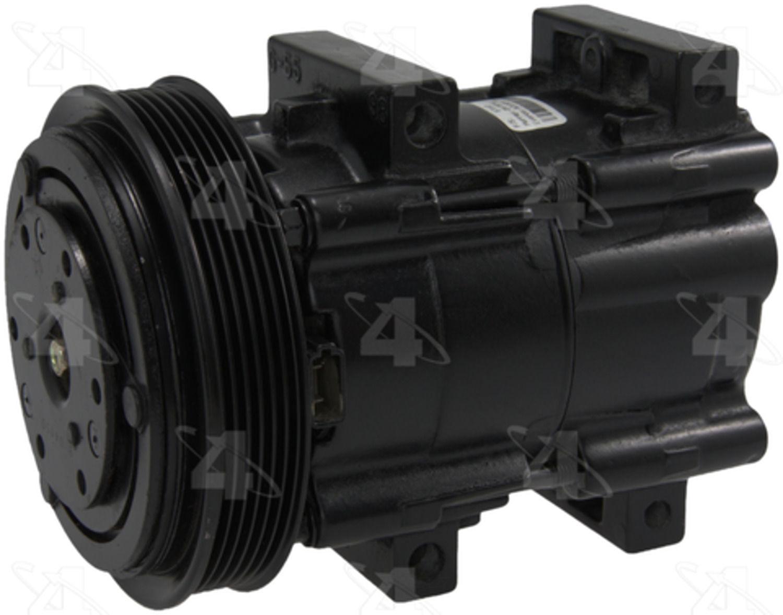 PARTS MASTER/FOUR SEASONS - A/C Compressor - P77 57163