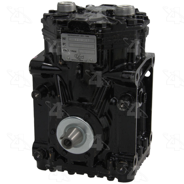 PARTS MASTER/FOUR SEASONS - New Compressor - P77 58061