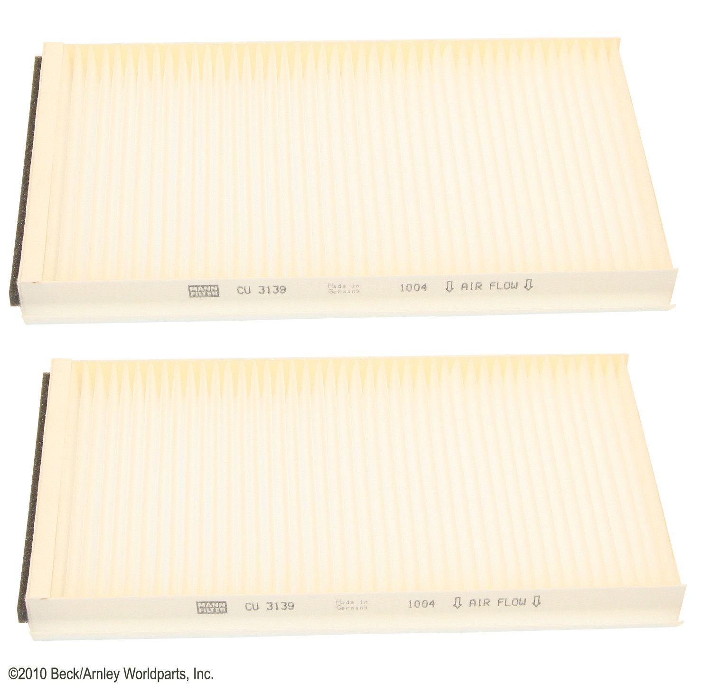 BECK/ARNLEY - Cabin Air Filter Set - BAR 042-2169