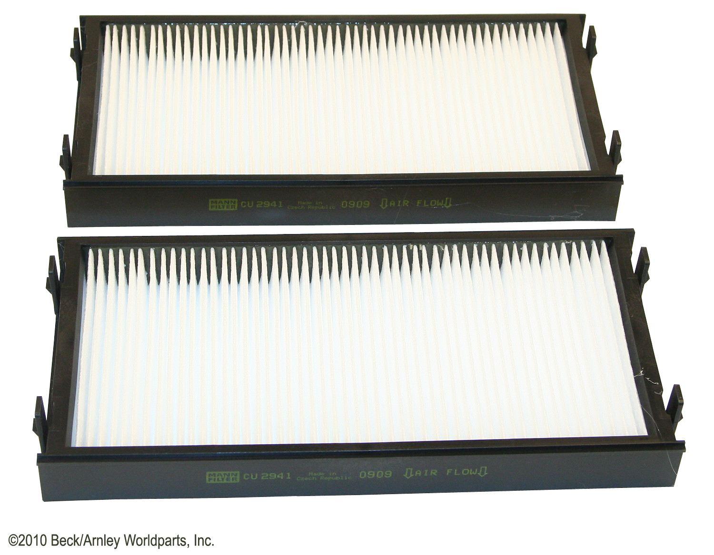 BECK/ARNLEY - Cabin Air Filter Set - BAR 042-2171