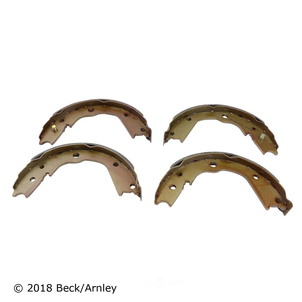 BECK/ARNLEY - Parking Brake Shoe - BAR 081-3244