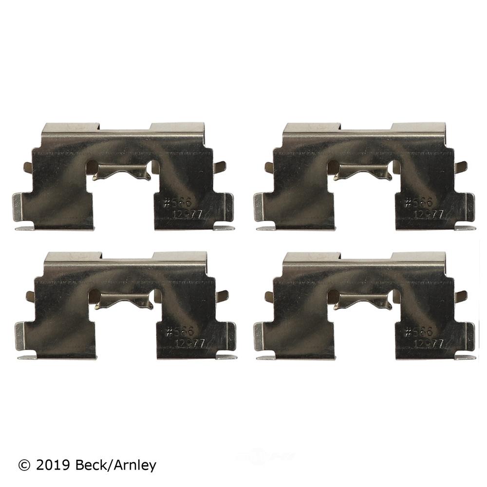 BECK/ARNLEY - Disc Brake Hardware Kit (Rear) - BAR 084-1549
