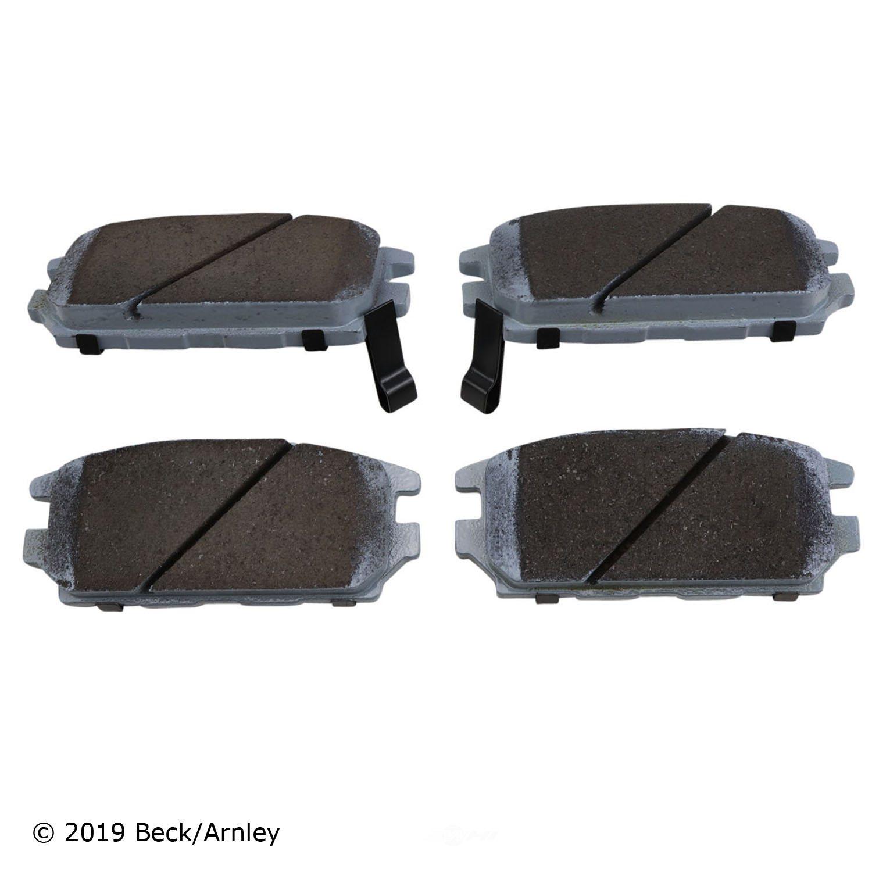 BECK/ARNLEY - Disc Brake Pad (Rear) - BAR 085-1441