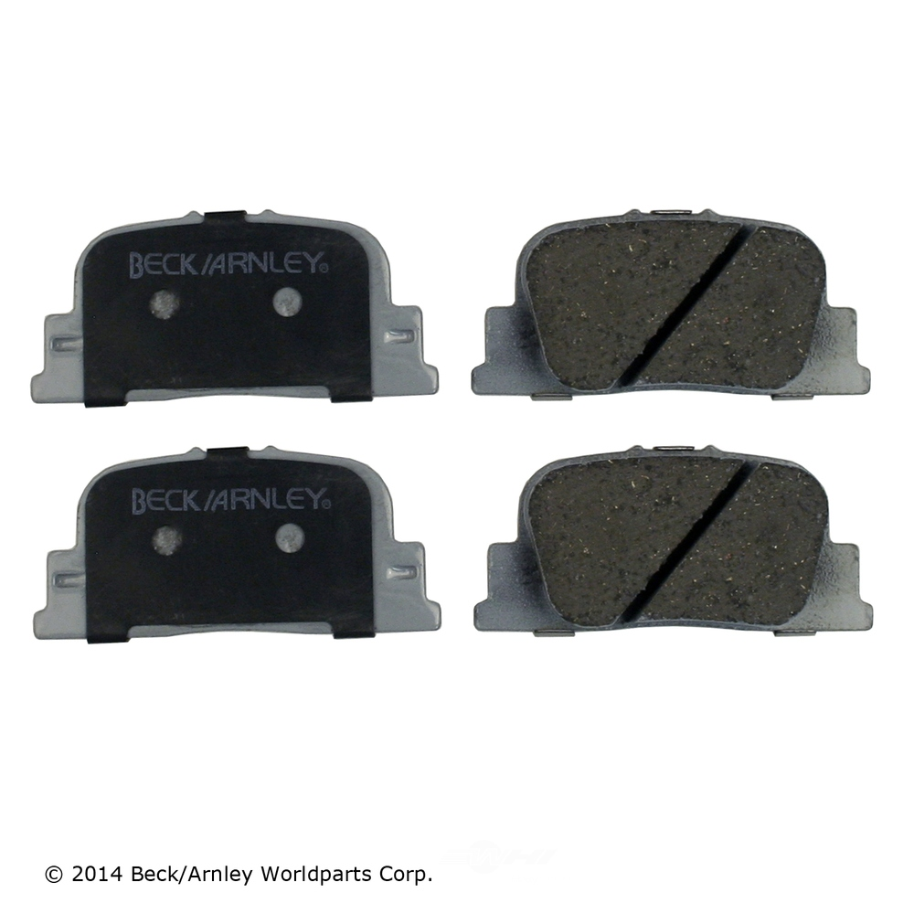 BECK/ARNLEY - Disc Brake Pad (Rear) - BAR 085-1670