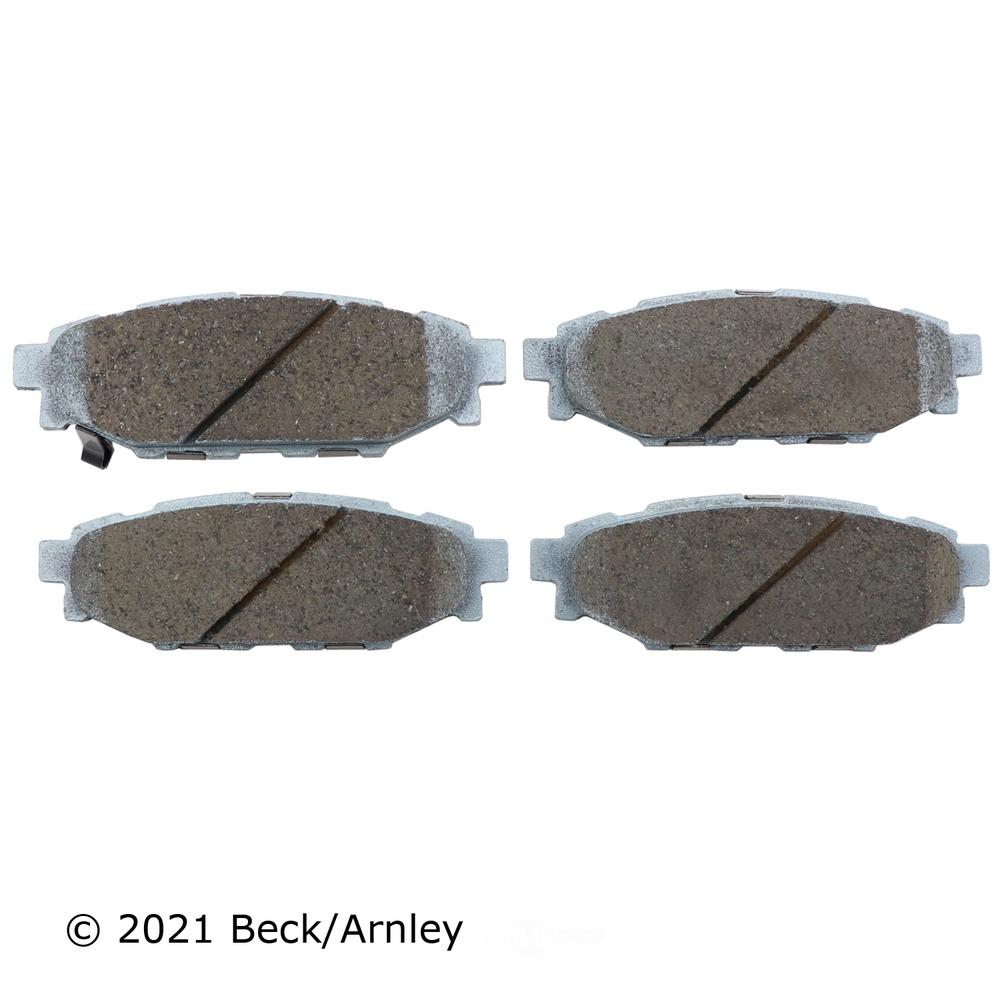 BECK/ARNLEY - Disc Brake Pad (Rear) - BAR 085-1811