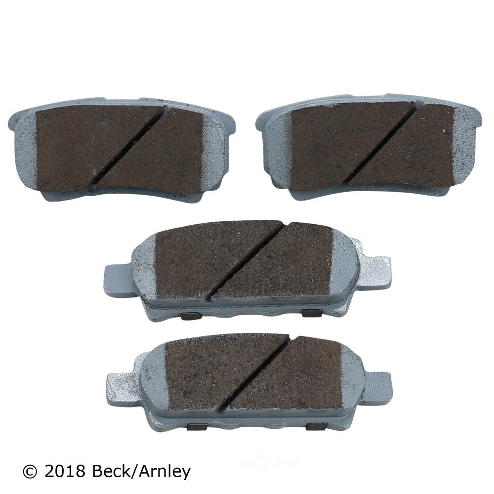 BECK/ARNLEY - Disc Brake Pad (Rear) - BAR 085-1848