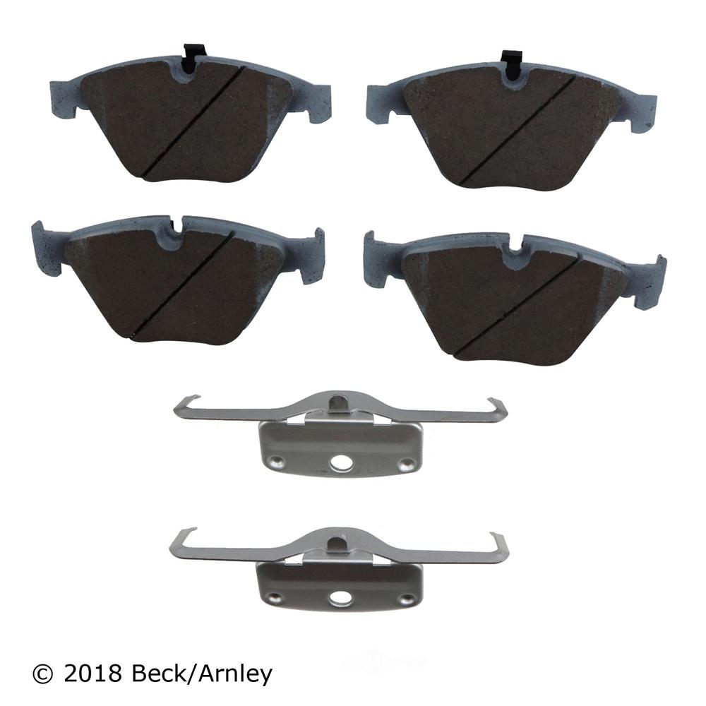 BECK/ARNLEY - Disc Brake Pad (Front) - BAR 085-6822
