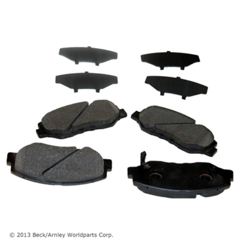 BECK/ARNLEY - Disc Brake Pad - BAR 086-1698C