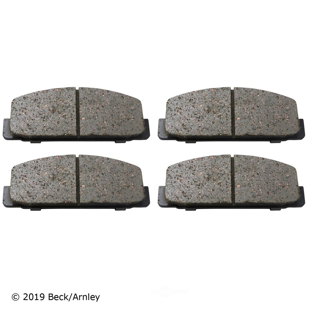 BECK/ARNLEY - Disc Brake Pad (Rear) - BAR 089-1283