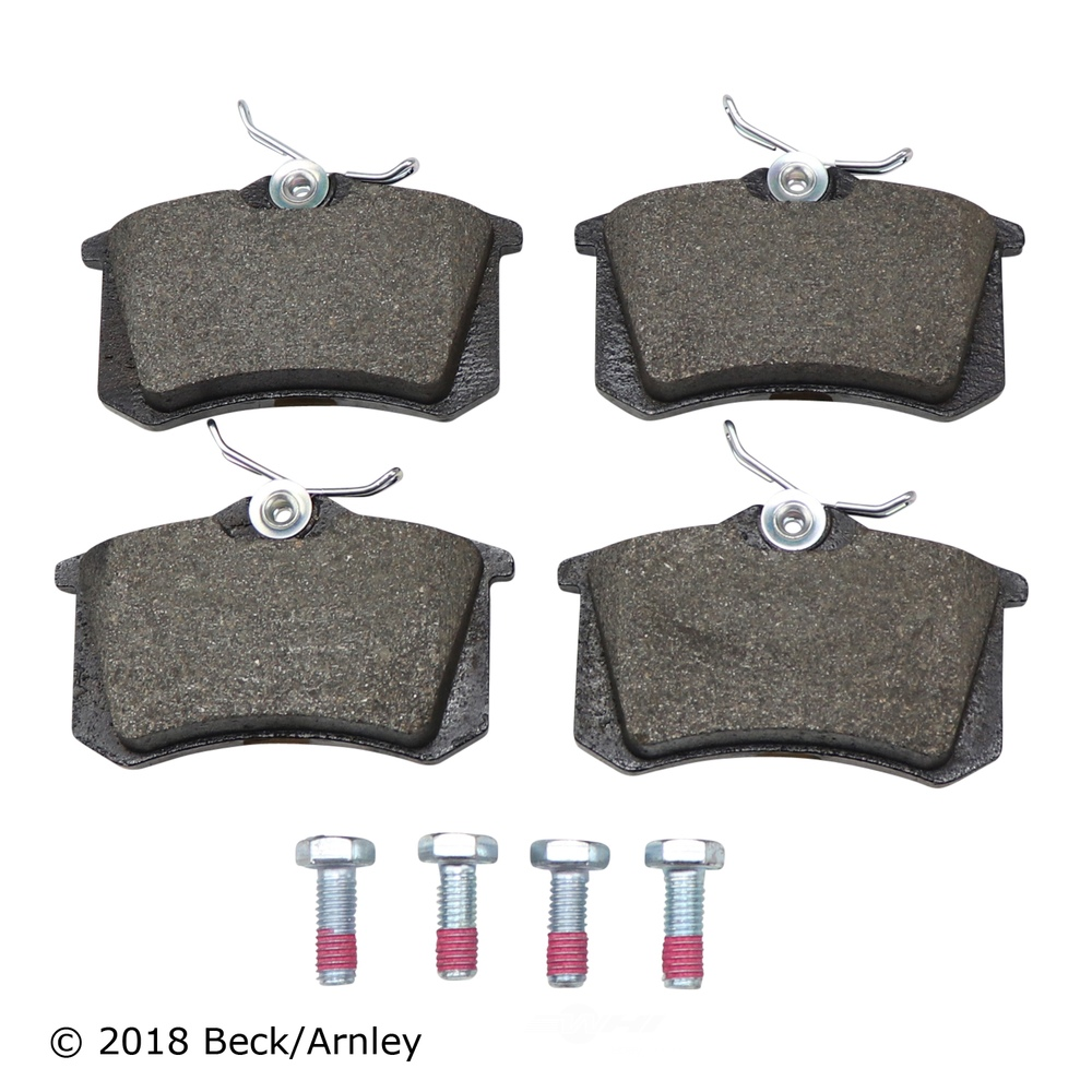 BECK/ARNLEY - Disc Brake Pad (Rear) - BAR 089-1325