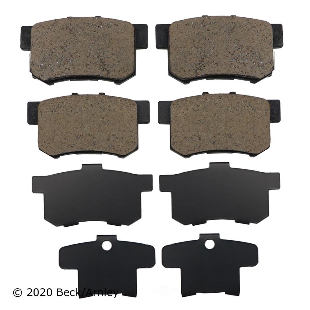 BECK/ARNLEY - Disc Brake Pad (Rear) - BAR 089-1467