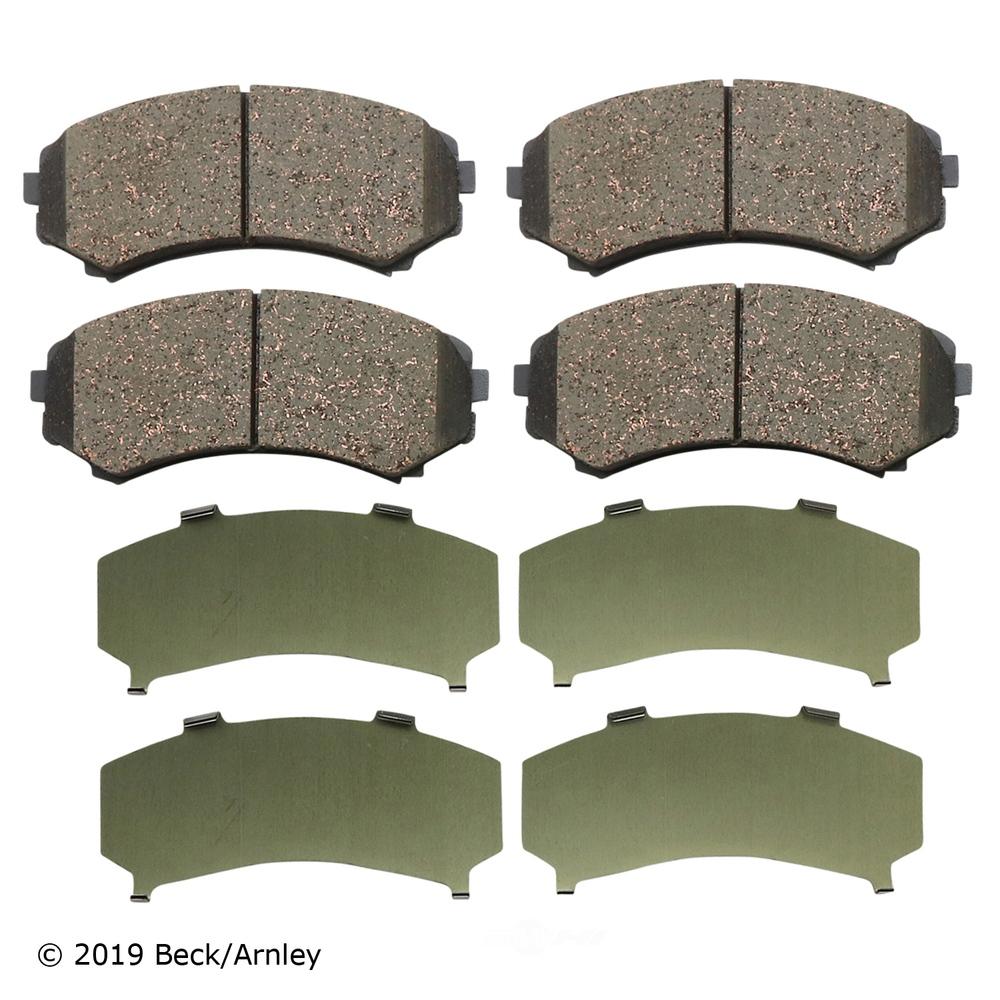 BECK/ARNLEY - Disc Brake Pad (Front) - BAR 089-1654