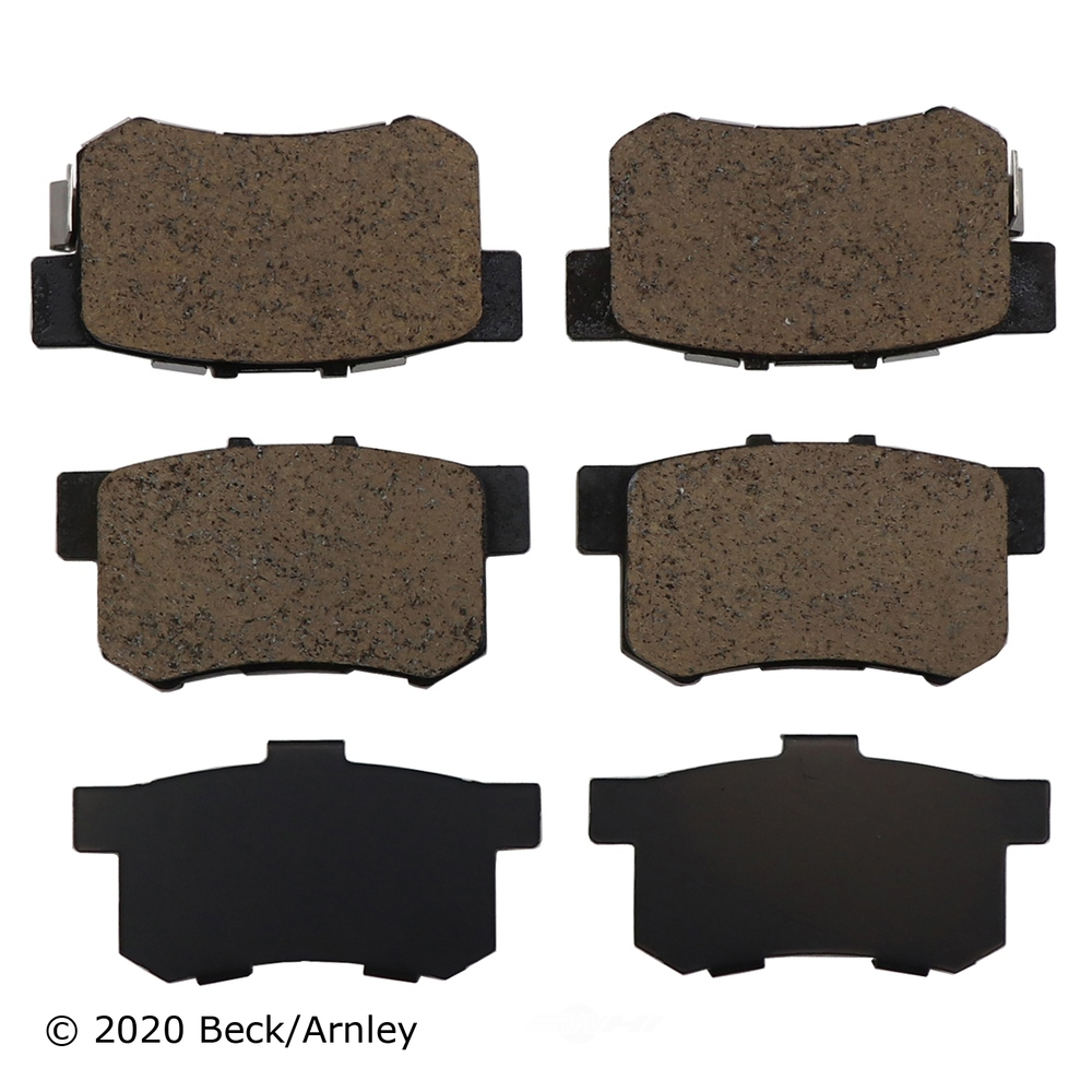 BECK/ARNLEY - Disc Brake Pad - BAR 089-1733