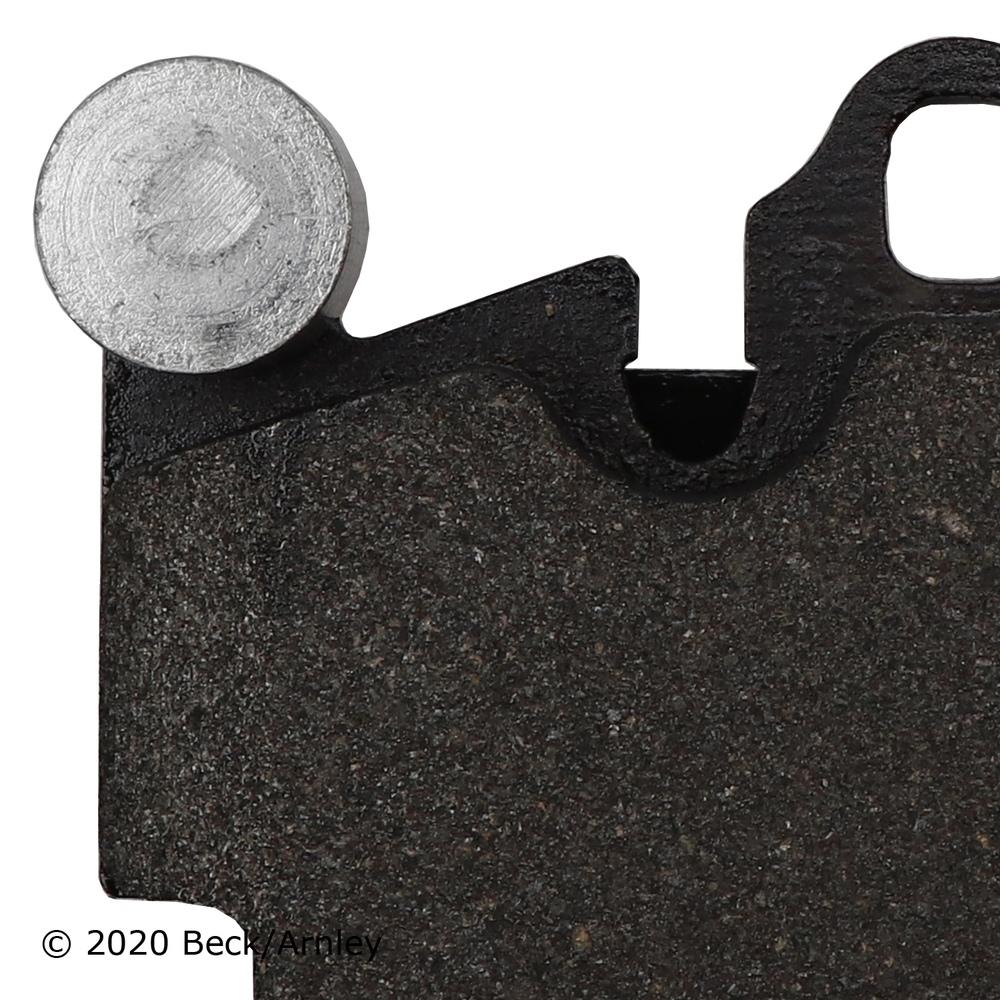 BECK/ARNLEY - Disc Brake Pad - BAR 089-1762