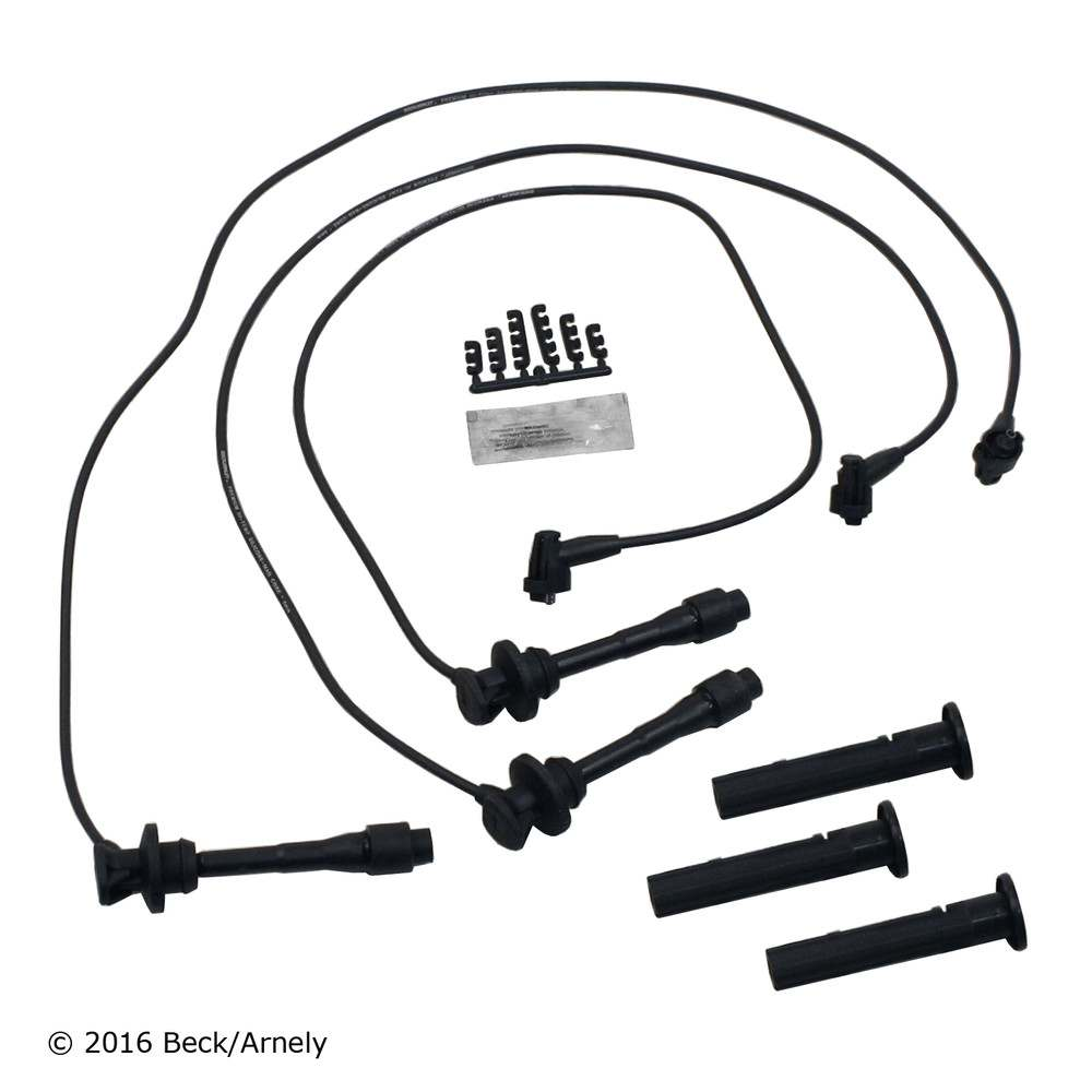 BECK\/ARNLEY - Spark Pug Wire & Coil Boot Set - BAR 175-8009