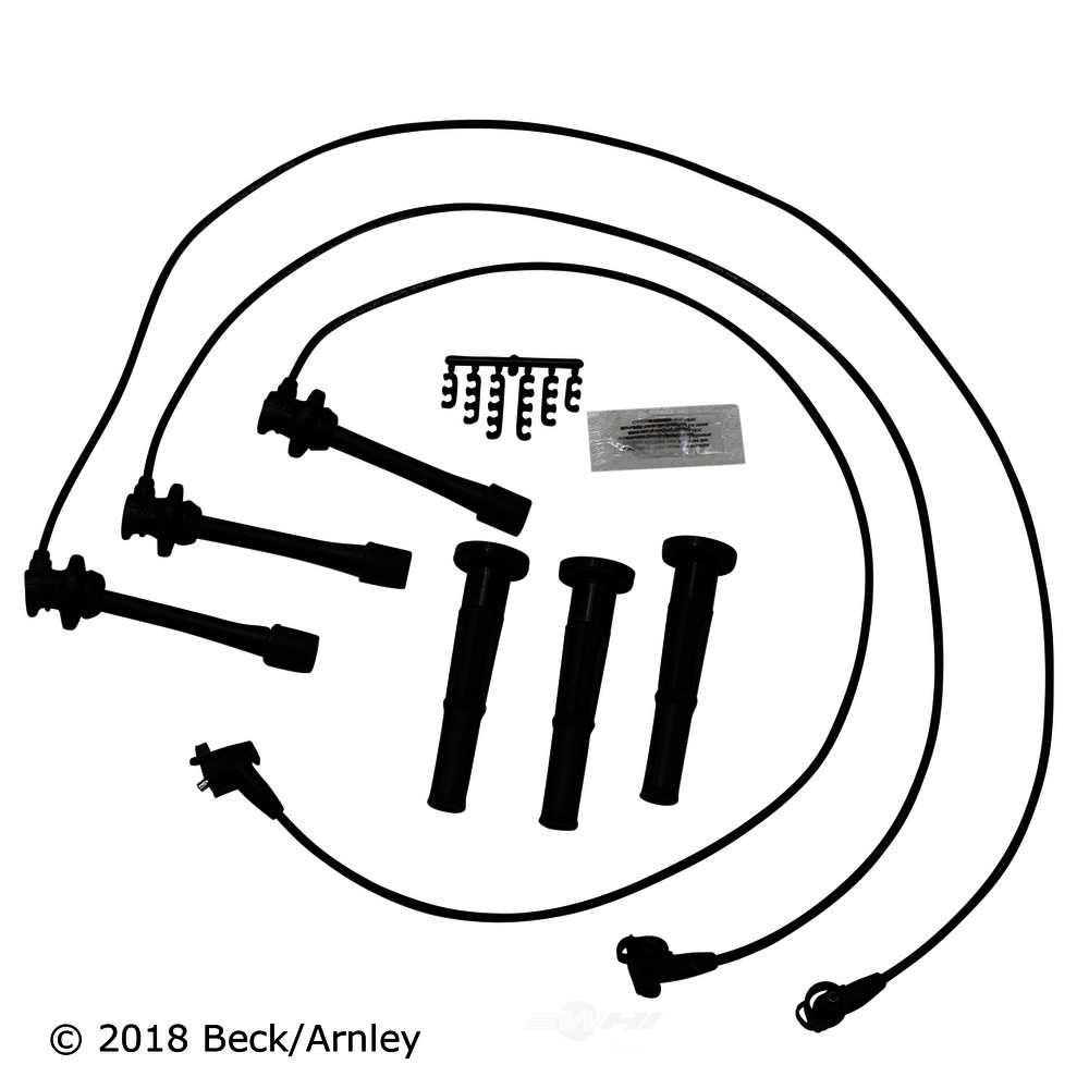 BECK\/ARNLEY - Spark Pug Wire & Coil Boot Set - BAR 175-8010