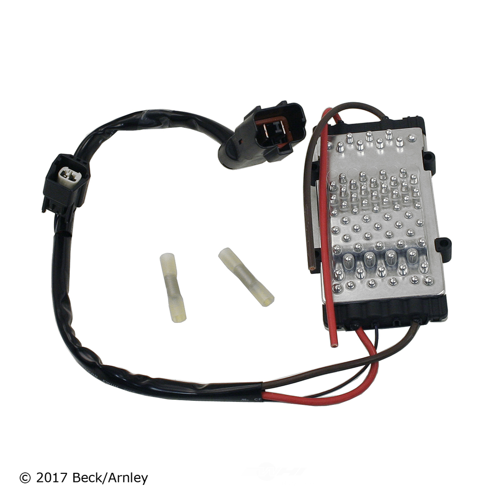 BECK/ARNLEY - Engine Cooling Fan Module - BAR 203-0283