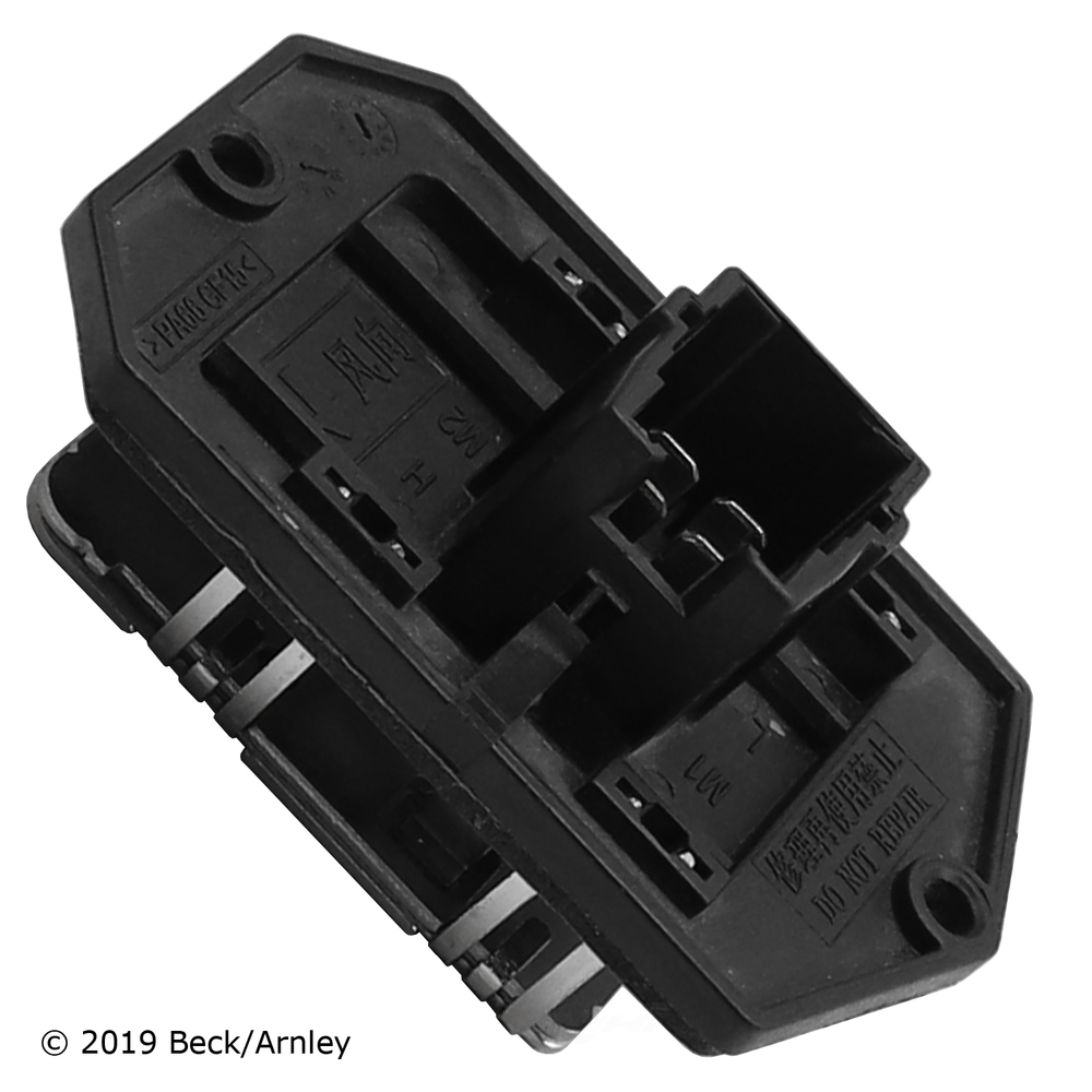 BECK/ARNLEY - HVAC Blower Motor Resistor - BAR 204-0004